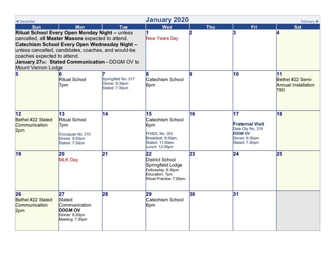 2020-Lodge Calendar (jan)