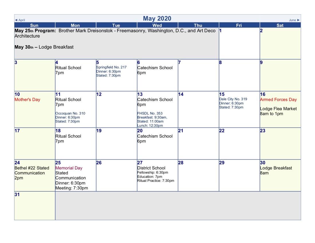2020-Lodge Calendar (may)