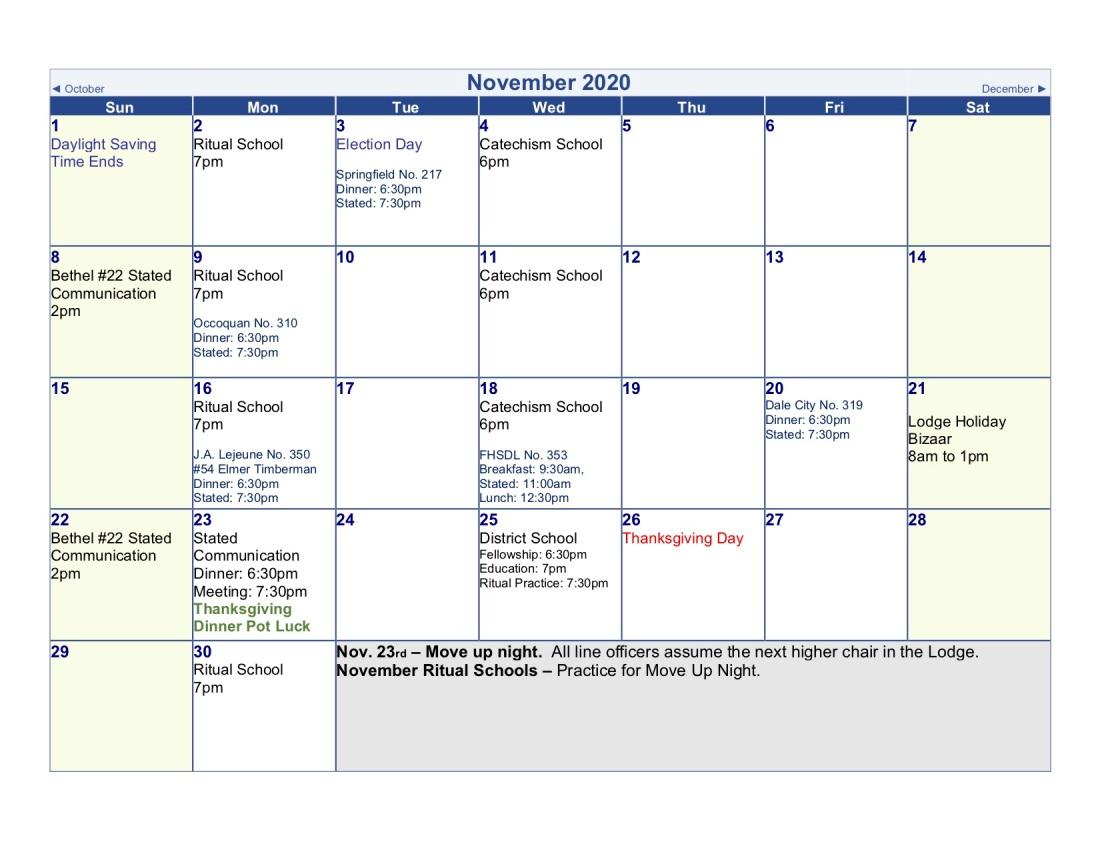 2020-Lodge Calendar (nov)