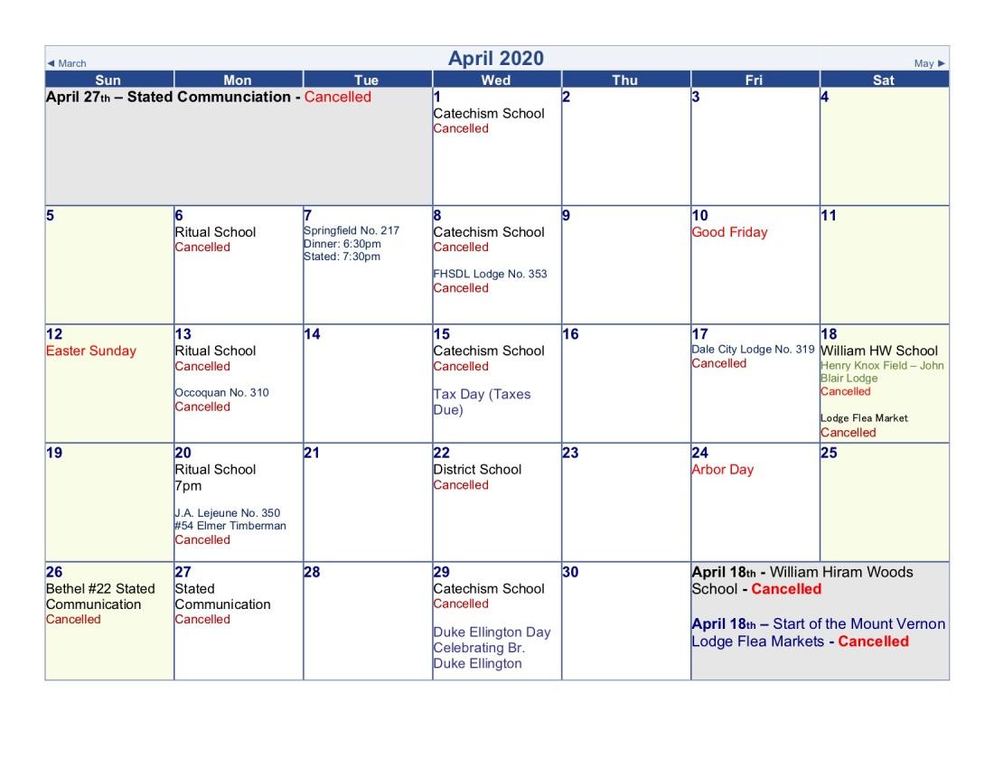 2020-Lodge Calendar APRX